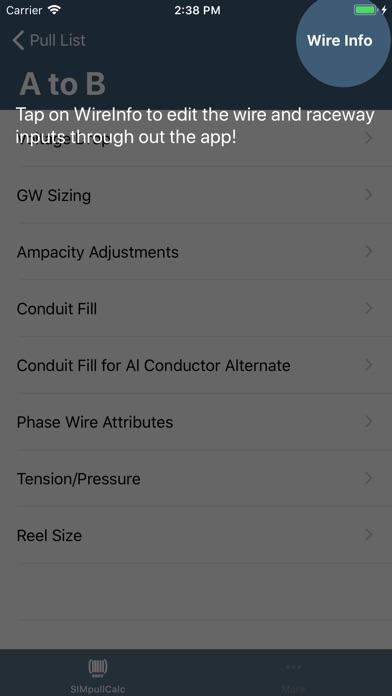 Simpull 600v calculator app price drops screenshot 8 for simpull 600v calculator greentooth Images