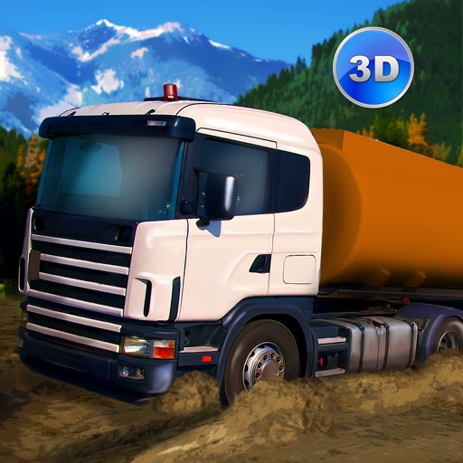 Oil Truck Offroad Driving Full icon