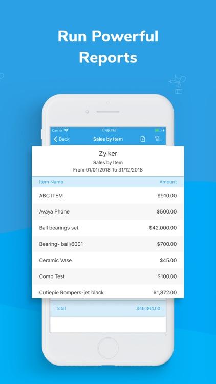 Inventory app - Zoho screenshot-4