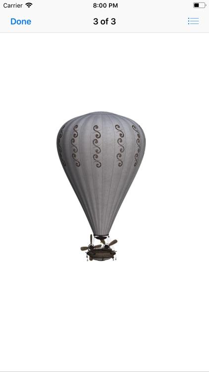 Vintage Hot Air Balloons screenshot-3