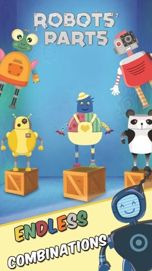 Robot games for preschool kids on the App Store