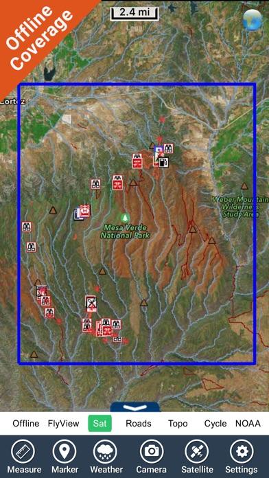Mesa Verde National Park - GPS Map Navigator | App Price Drops