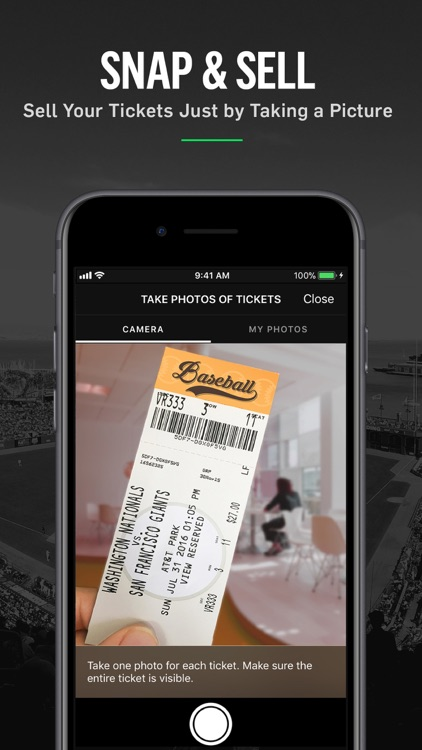Gametime · Last Minute Tickets screenshot-2