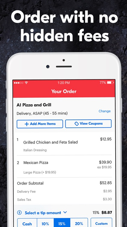 Grubhub – Order Food Delivery screenshot-3