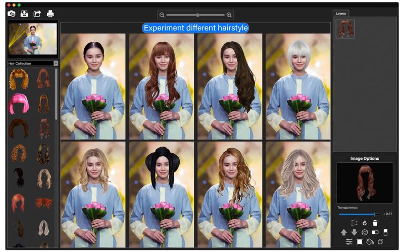 Digital Fashion Face Hair App Price Drops