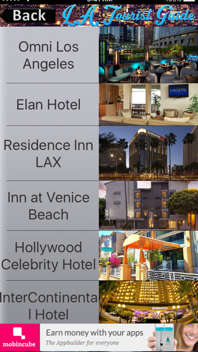 Los Angeles Tourist Guide screenshot two