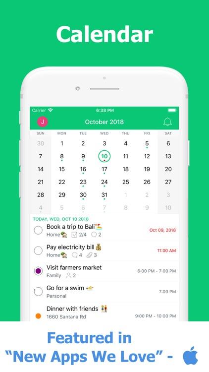 To Do List & Calendar