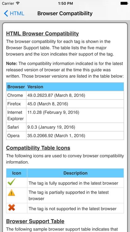 HTML Pro Quick Guide screenshot-3