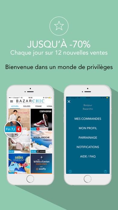 t l charger bazarchic ventes priv es mode pour iphone ipad sur l 39 app store shopping. Black Bedroom Furniture Sets. Home Design Ideas