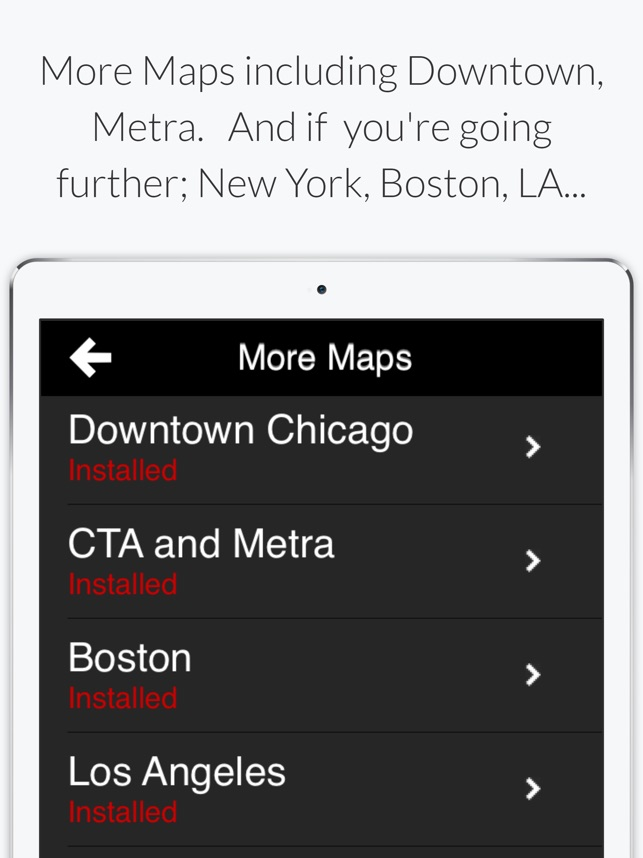 Chicago L - Subway Map on the App Store