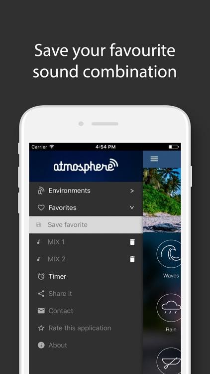 Atmosphere: Relaxing Sounds screenshot-3