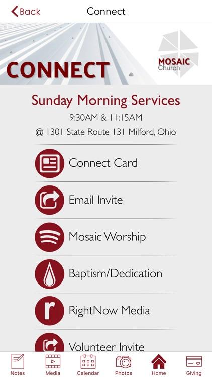 Mosaic Church   Cincinnati screenshot-4