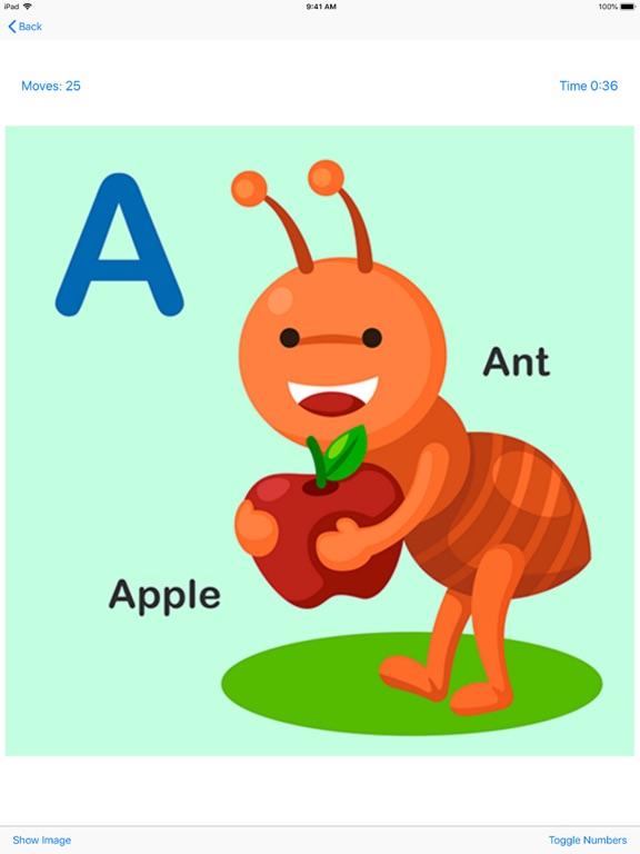 Animals Alphabet Puzzle Kids screenshot #4