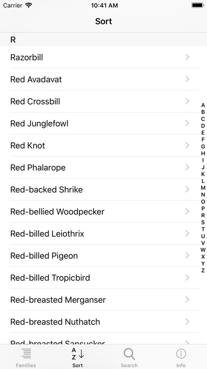 Learning Birds Check-list screenshot-4