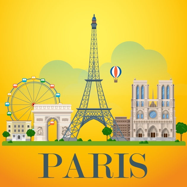 paris travel guide offline on the app store. Black Bedroom Furniture Sets. Home Design Ideas