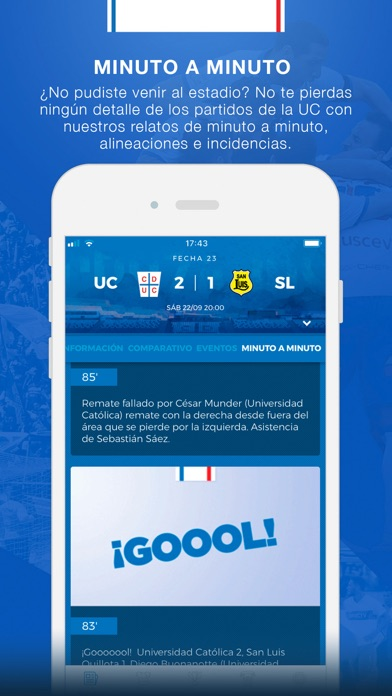 Screenshot for Cruzados in Chile App Store