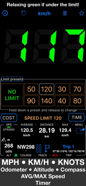 WHAT DOES 122 KM/HR QUAL TO MPH