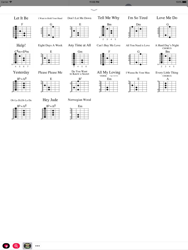John And Paul Guitar Chords On The App Store