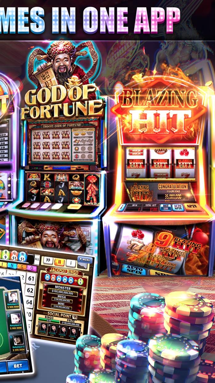 Real Vegas - Full House Casino Screenshot