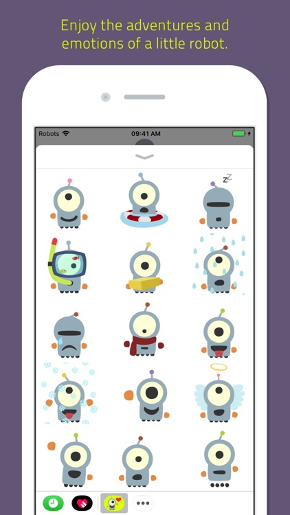 Emoji Bots animated screenshot-3