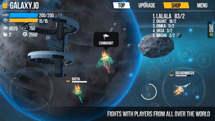 Galaxy.io Space Arena screenshot-3