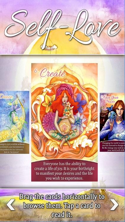 Self-Love Oracle Cards screenshot-3