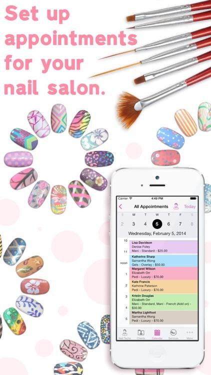 eNails - Nail salon appointment schedule calender