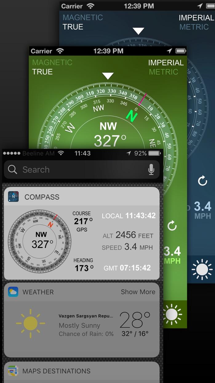 Compass GPS/A.T & T Screenshot