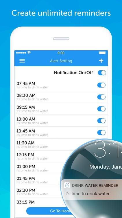 Drink Water Reminder Pro screenshot-3
