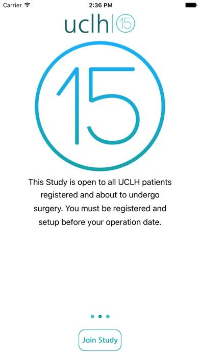 UCLH QoR screenshot