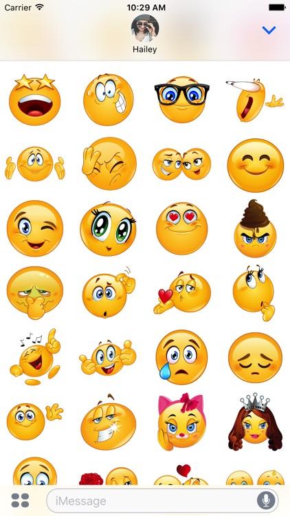 Love Stickers Emoji