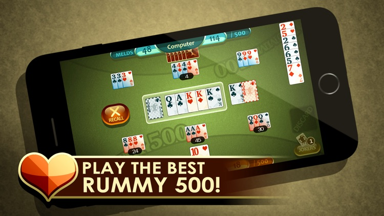 Rummy 500 screenshot-0