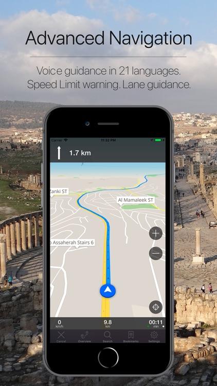 Jordan Offline Navigation screenshot-3