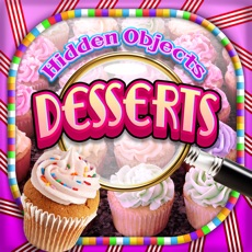 Activities of Hidden Objects Desserts & Candy Cupcake Object Pic