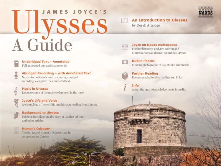 Joyce's Ulysses: A Guide screenshot-0
