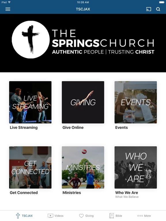 The Springs Church Jax screenshot 4