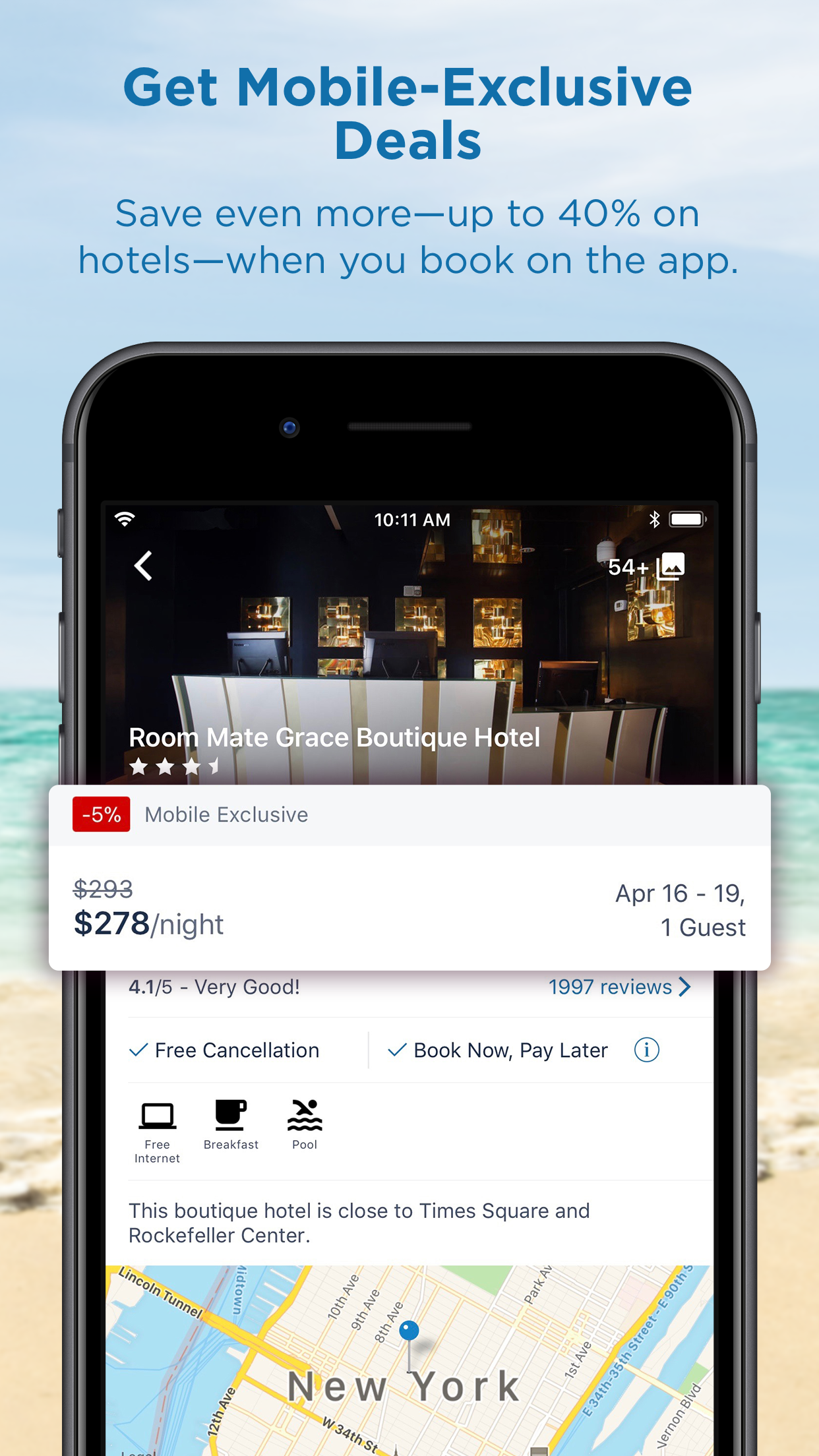CheapTickets Hotels & Flights Screenshot