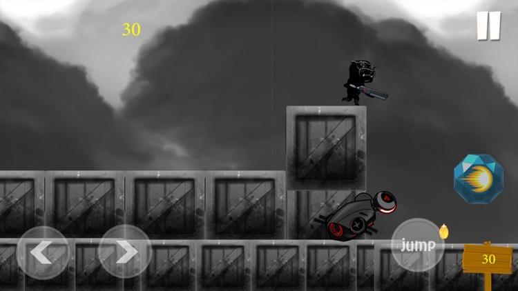 Black Panther Runner Shooter screenshot-3