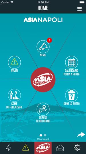 Calendario Raccolta Differenziata Napoli.Asia Napoli Differenziapuretu Su App Store