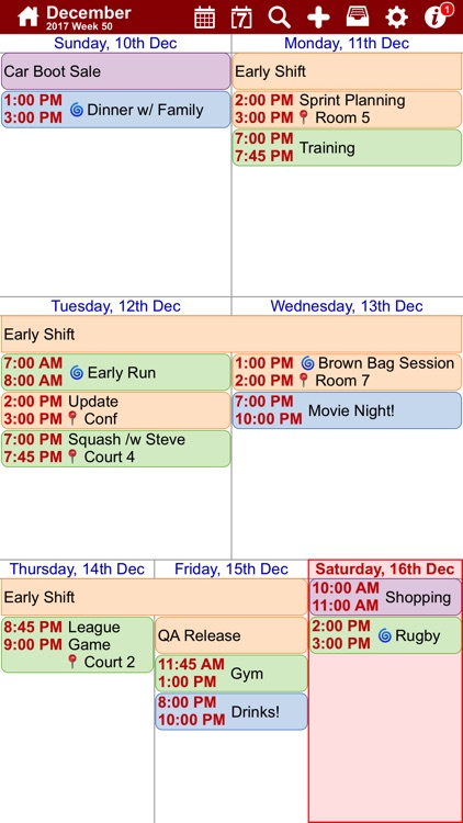 myCal PRO: Calendar & Events screenshot-1