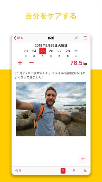 ウェイトトラッカー+ 食事ジャーナル ScreenShot2