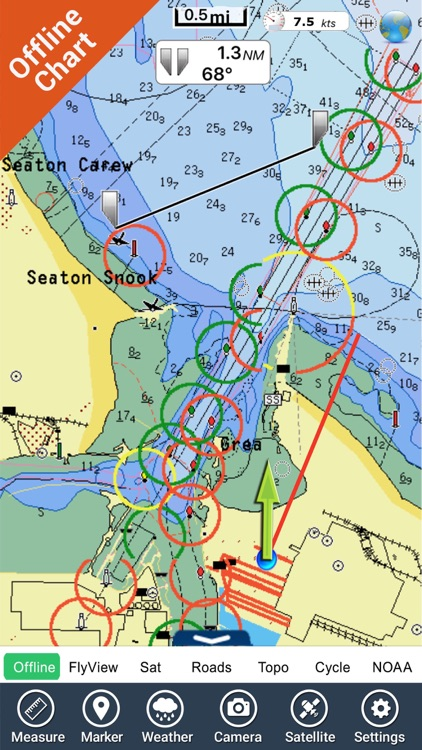 Map East Of England.Marine East England Hd Gps Map Navigator By Flytomap