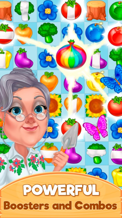 Granny's Farm: Match-3 Game screenshot-3