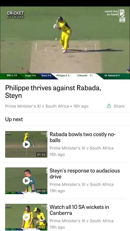 Cricket Australia Live screenshot-3