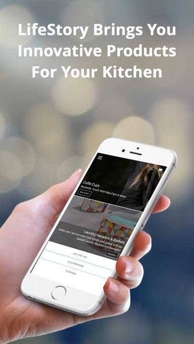 LifeStory Global Shopping App screenshot one