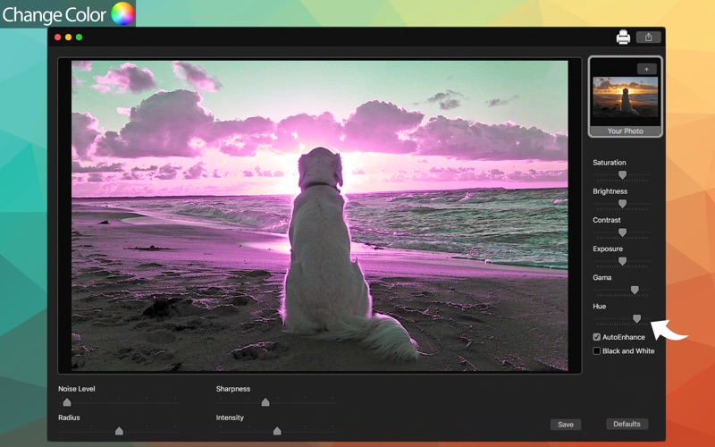 InstaNoise - Enhance noise photos screenshot 4