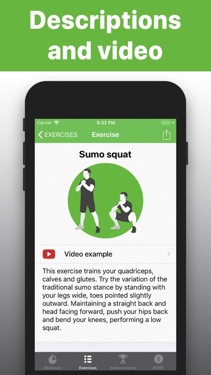 Squats -  exercises & training screenshot-2