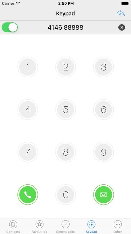 Rubrica4146: prefix dialer screenshot-3
