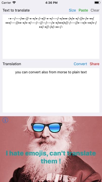 Morse Message screenshot-3