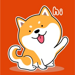 Shiba Inu Animated Stickers